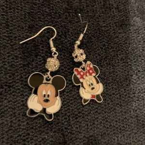 Mickey & Minnie Disney Earrings
